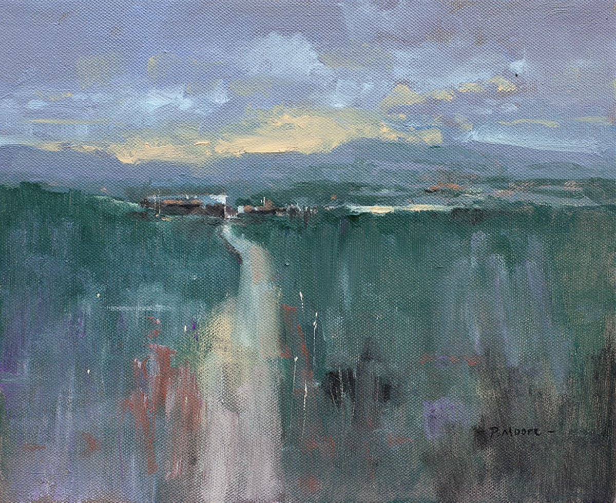 image showing Frog Farm: Oil on canvas