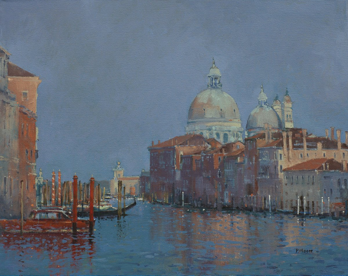 image showing The Salute, Venice: Oil on Canvas